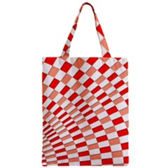 Graphics Pattern Design Abstract Zipper Classic Tote Bag