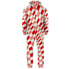 Graphics Pattern Design Abstract Hooded Jumpsuit (men)