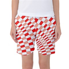 Graphics Pattern Design Abstract Women s Basketball Shorts