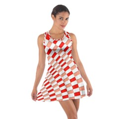 Graphics Pattern Design Abstract Cotton Racerback Dress