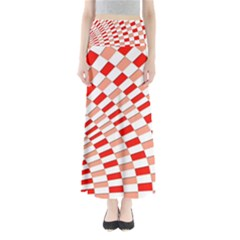 Graphics Pattern Design Abstract Maxi Skirts