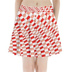 Graphics Pattern Design Abstract Pleated Mini Skirt