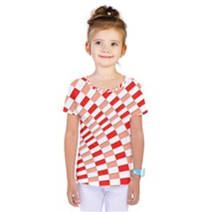 Graphics Pattern Design Abstract Kids  One Piece Tee
