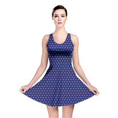 Fractal Art Honeycomb Mathematics Reversible Skater Dress