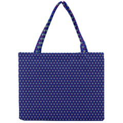 Fractal Art Honeycomb Mathematics Mini Tote Bag