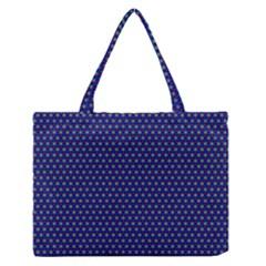 Fractal Art Honeycomb Mathematics Medium Zipper Tote Bag