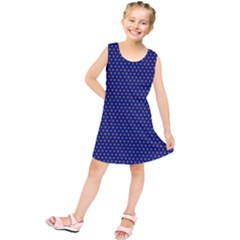Fractal Art Honeycomb Mathematics Kids  Tunic Dress