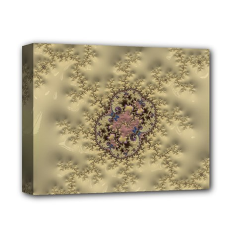 Fractal Art Colorful Pattern Deluxe Canvas 14  X 11