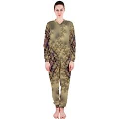 Fractal Art Colorful Pattern Onepiece Jumpsuit (ladies)