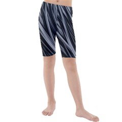 Fractal Mathematics Abstract Kids  Mid Length Swim Shorts
