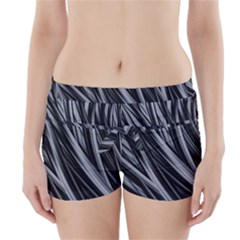 Fractal Mathematics Abstract Boyleg Bikini Wrap Bottoms