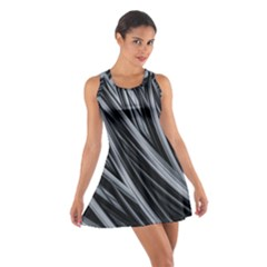 Fractal Mathematics Abstract Cotton Racerback Dress