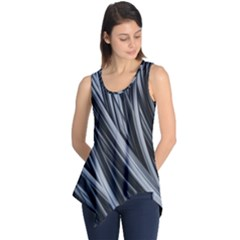 Fractal Mathematics Abstract Sleeveless Tunic