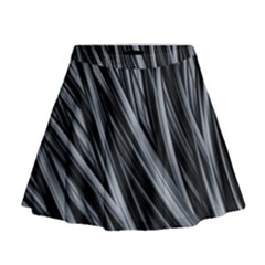 Fractal Mathematics Abstract Mini Flare Skirt