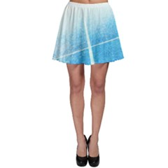 Court Sport Blue Red White Skater Skirt