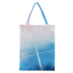 Court Sport Blue Red White Classic Tote Bag