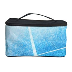 Court Sport Blue Red White Cosmetic Storage Case