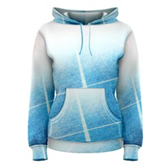 Court Sport Blue Red White Women s Pullover Hoodie