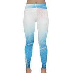Court Sport Blue Red White Classic Yoga Leggings