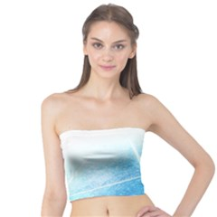 Court Sport Blue Red White Tube Top