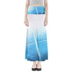 Court Sport Blue Red White Maxi Skirts