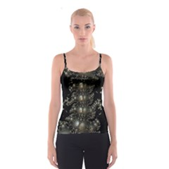 Fractal Math Geometry Backdrop Spaghetti Strap Top