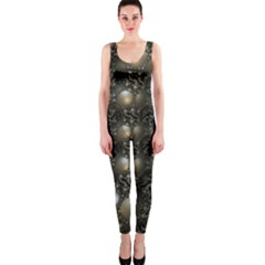 Fractal Math Geometry Backdrop Onepiece Catsuit
