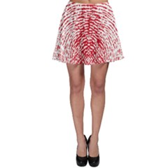 Heart Love Valentine Red Skater Skirt