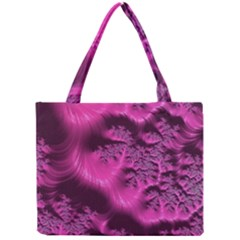 Fractal Artwork Pink Purple Elegant Mini Tote Bag