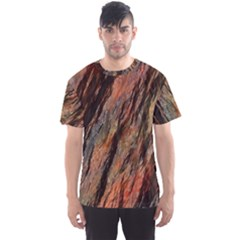 Texture Stone Rock Earth Men s Sport Mesh Tee