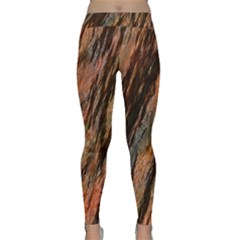 Texture Stone Rock Earth Classic Yoga Leggings