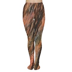 Texture Stone Rock Earth Women s Tights
