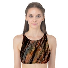 Texture Stone Rock Earth Tank Bikini Top