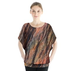 Texture Stone Rock Earth Blouse