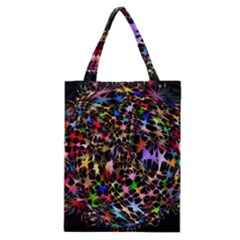 Network Integration Intertwined Classic Tote Bag
