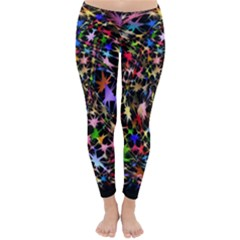 Network Integration Intertwined Classic Winter Leggings