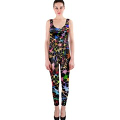 Network Integration Intertwined Onepiece Catsuit