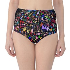 Network Integration Intertwined High Waist Bikini Bottoms