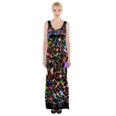 Network Integration Intertwined Maxi Thigh Split Dress