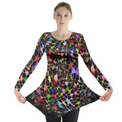 Network Integration Intertwined Long Sleeve Tunic