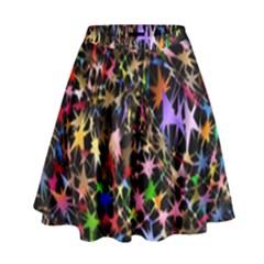 Network Integration Intertwined High Waist Skirt