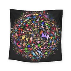 Network Integration Intertwined Square Tapestry (small)