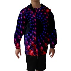 Fractal Mathematics Abstract Hooded Wind Breaker (kids)