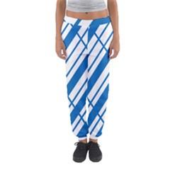 Line Blue Chevron Women s Jogger Sweatpants