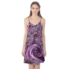 Purple Abstract Art Fractal Art Fractal Camis Nightgown