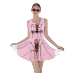 Mosquito Pink Insect Blood Skater Dress
