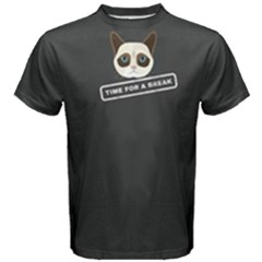 Grey time for a break  Men s Cotton Tee