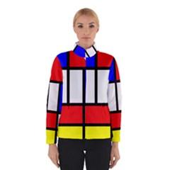 Mondrian Red Blue Yellow Winterwear