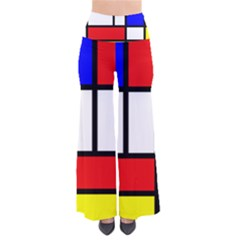 Mondrian Red Blue Yellow Pants