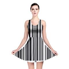 Code Data Digital Register Reversible Skater Dress